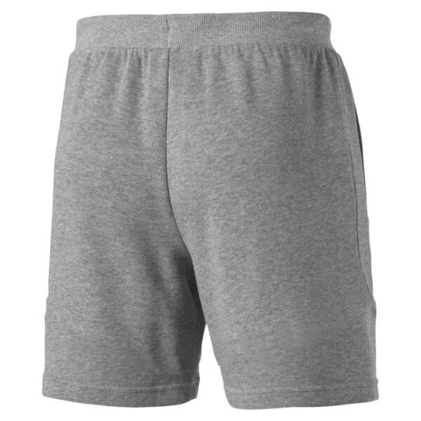 Scuderia Ferrari Men's Sweat Shorts, Medium Gray Heather, large