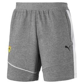Thumbnail 2 of Scuderia Ferrari Men's Sweat Shorts, Medium Gray Heather, medium