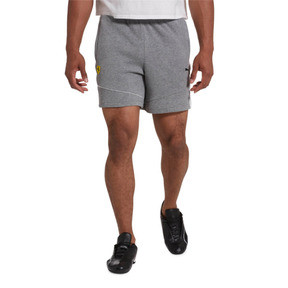 Thumbnail 1 of Scuderia Ferrari Men's Sweat Shorts, Medium Gray Heather, medium