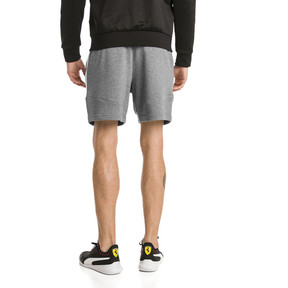 Thumbnail 2 of Ferrari Men's Sweat Shorts, Medium Gray Heather, medium