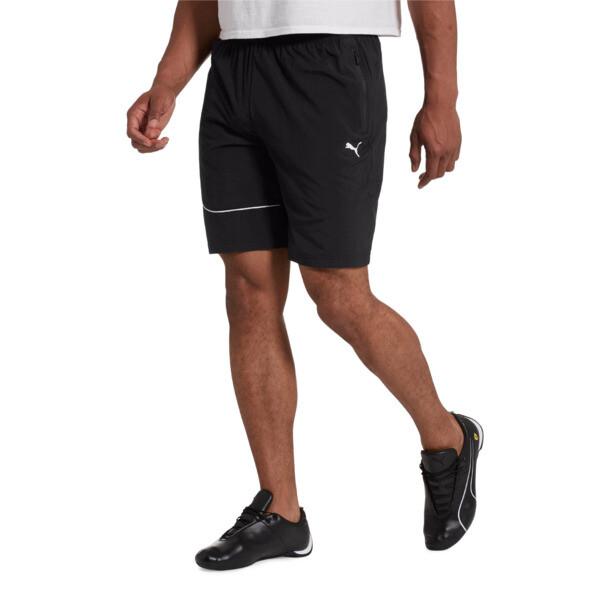 Scuderia Ferrari Men's Summer Shorts, Puma Black, large