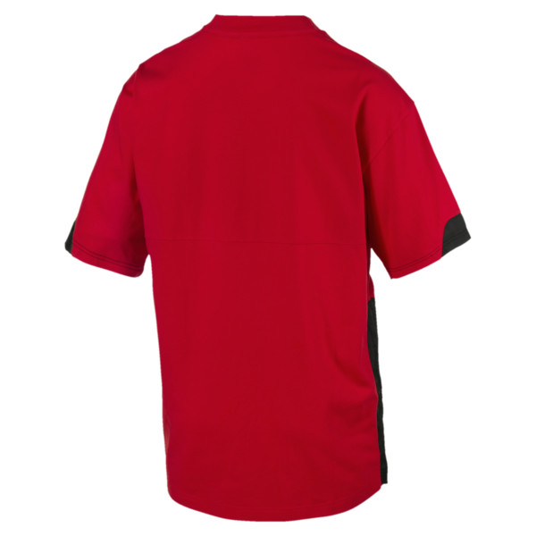 Ferrari Lifestyle T-shirt voor mannen, Rosso Corsa, large