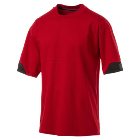 Imagen en miniatura 1 de Camiseta de hombre Ferrari Lifestyle, Rosso Corsa, mediana