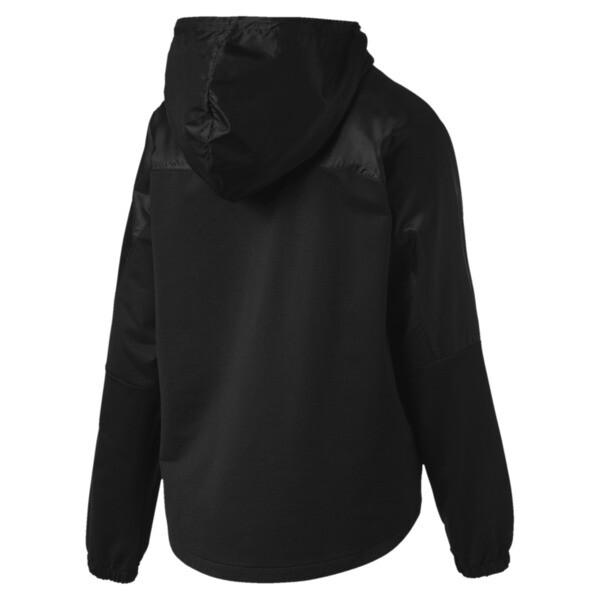 Scuderia Ferrari Women's Hooded Sweat Jacket, Puma Black, large
