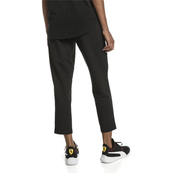 Scuderia Ferrari Women's Sweatpants, Puma Black, large