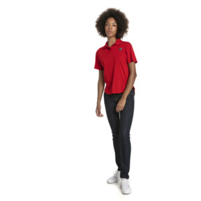 Thumbnail 3 of Ferrari Women's Polo, Rosso Corsa, medium