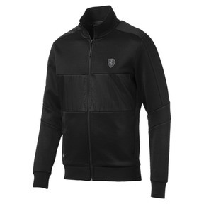 Thumbnail 4 of Scuderia Ferrari Men's T7 Track Jacket, Puma Black, medium