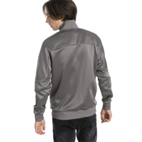 Thumbnail 3 of Scuderia Ferrari Men's T7 Track Jacket, Charcoal Gray, medium