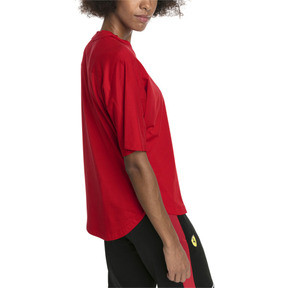 Thumbnail 2 of Ferrari Big Shield Women's Tee, Rosso Corsa, medium