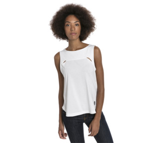 Thumbnail 2 of Ferrari Women's Top, Puma White, medium