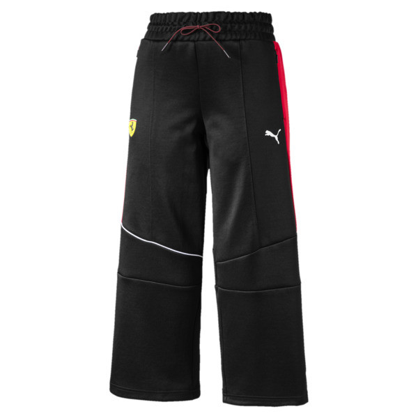 Scuderia Ferrari Women's Track Pants, Puma Black, large