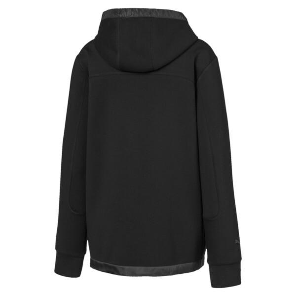 Ferrari Hooded Zip-Up Men's Sweat Jacket, Puma Black, large