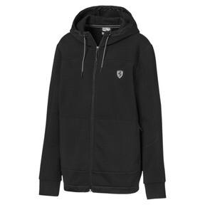 Thumbnail 1 of Scuderia Ferrari Men's Hooded Sweat Jacket, Puma Black, medium