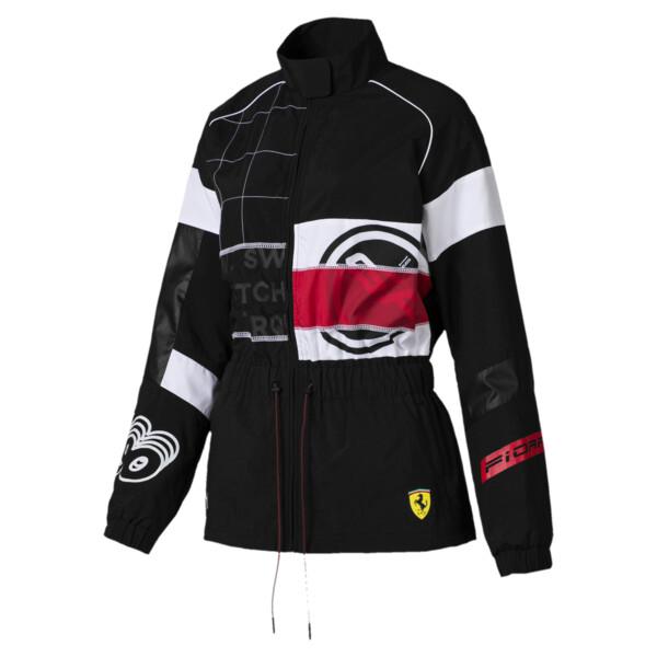 Scuderia Ferrari Street Women's Jacket, Puma Black, large