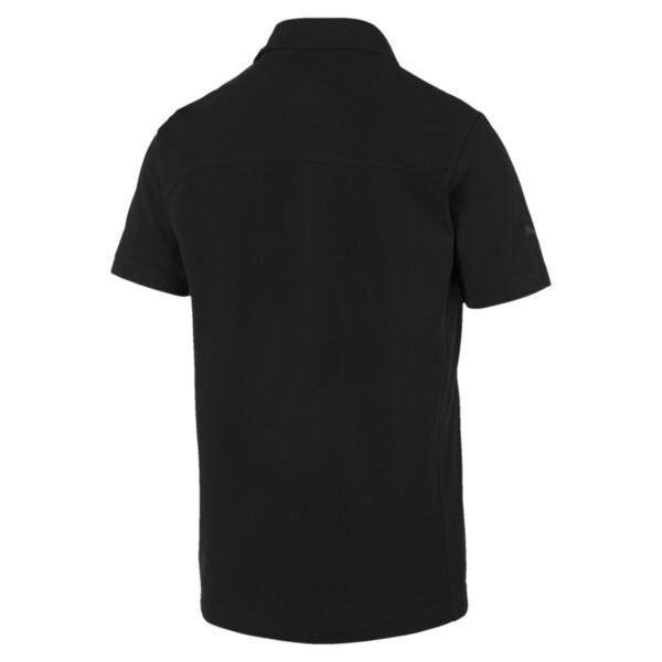 Ferrari Men's Polo Shirt, Puma Black, large