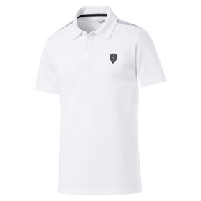 Thumbnail 1 of Ferrari Men's Polo Shirt, Puma White, medium