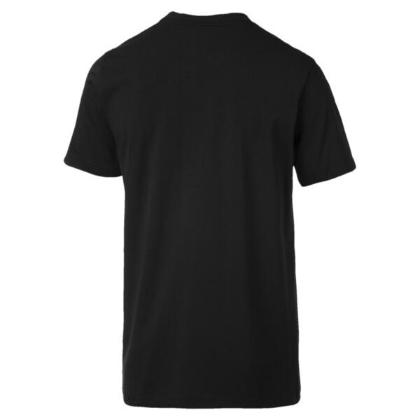 Camiseta con escudo grande de hombre Ferrari, Puma Black, grande
