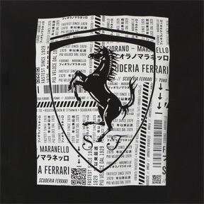 Thumbnail 10 of フェラーリ ビッグシールド Tシャツ, Puma Black, medium-JPN