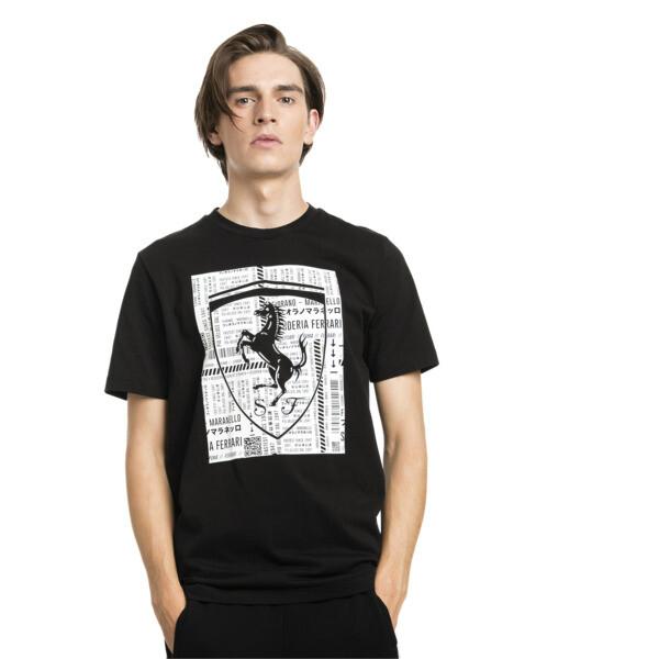 フェラーリ ビッグシールド Tシャツ, Puma Black, large-JPN