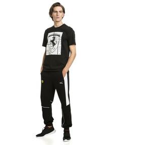 Imagen en miniatura 3 de Camiseta con escudo grande de hombre Ferrari, Puma Black, mediana