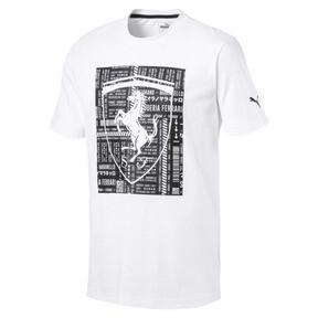 Thumbnail 1 of フェラーリ ビッグシールド Tシャツ, Puma White, medium-JPN