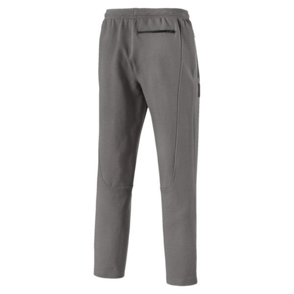 Scuderia Ferrari Men's OC Sweatpants, Charcoal Gray, large