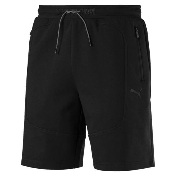 Scuderia Ferrari Men's Sweat Shorts, Puma Black, large