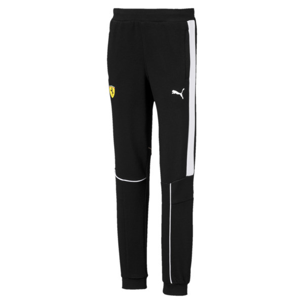 Scuderia Ferrari Boys' Sweatpants JR, Puma Black, large