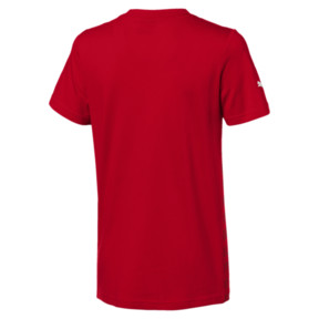 Thumbnail 2 of Ferrari Big Shield Kids' Tee, Rosso Corsa, medium