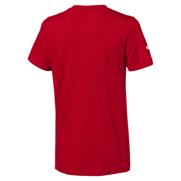 Ferrari Big Shield Kids' Tee, Rosso Corsa, large