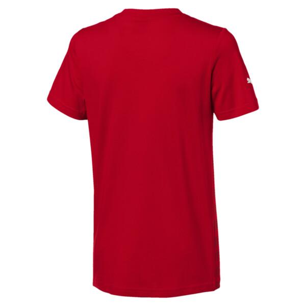 T-Shirt Ferrari Big Shield pour enfant, Rosso Corsa, large