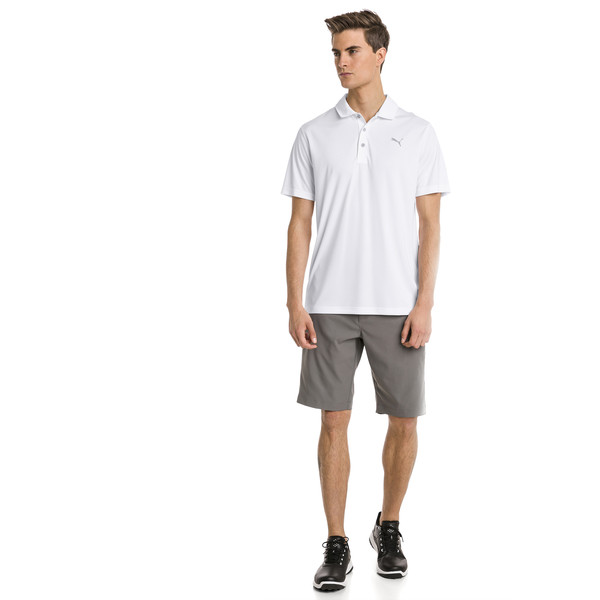 Polo de golf Rotation pour homme, Bright White, large