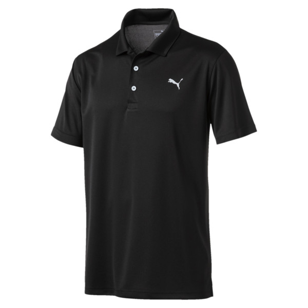 Polo de golf Rotation pour homme, Puma Black, large