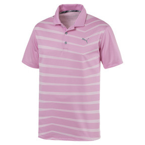 Thumbnail 4 of AlterKnit Prismatic Herren Golf Polo, Pale Pink Heather, medium