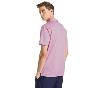 Thumbnail 2 of AlterKnit Prismatic Herren Golf Polo, Pale Pink Heather, medium