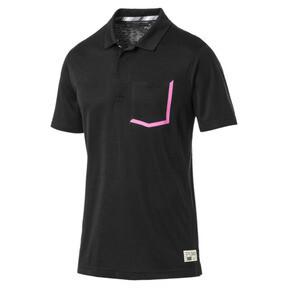 Thumbnail 1 of Polo de golf Faraday pour homme, Puma Black, medium