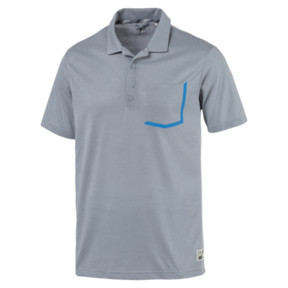 Thumbnail 4 of Polo de golf Faraday pour homme, Quarry, medium