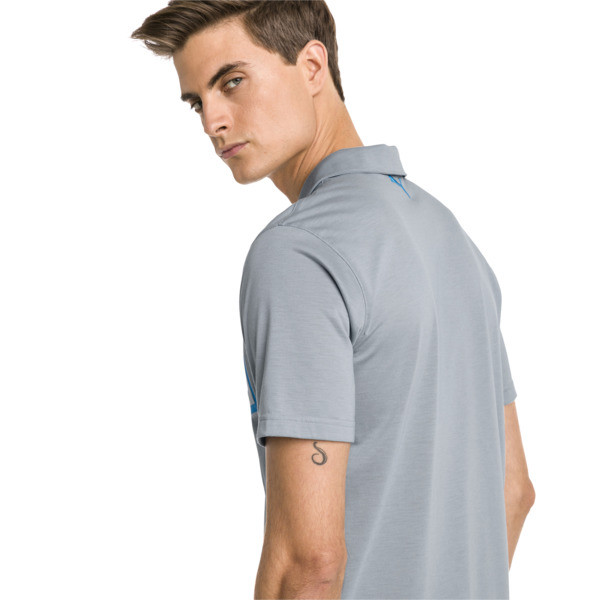 Polo de golf Faraday pour homme, Quarry, large