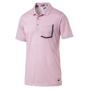 Thumbnail 4 of Faraday Men's Golf Polo, Pale Pink, medium