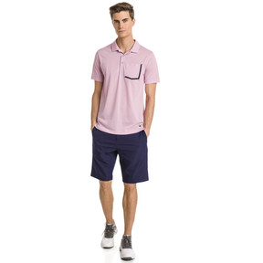 Thumbnail 3 of Faraday Men's Golf Polo, Pale Pink, medium