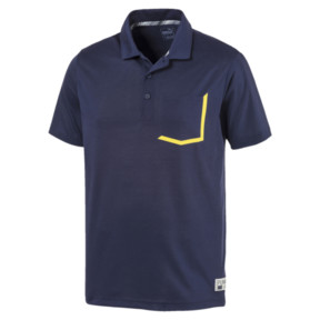 Thumbnail 4 of Faraday Men's Golf Polo, Peacoat, medium