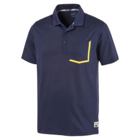 Miniatura 1 de Camiseta tipo polo Faraday para hombre, Peacoat, mediano