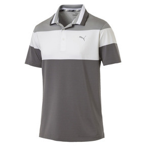 Thumbnail 4 of Polo de golf Nineties pour homme, Quarry, medium