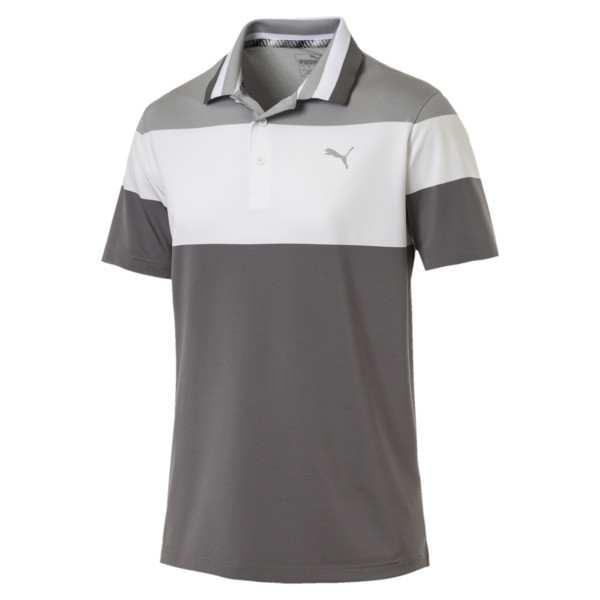Polo de golf Nineties pour homme, Quarry, large