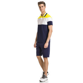 Thumbnail 3 of Nineties Men's Golf Polo, Blazing Yellow, medium