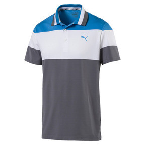 Thumbnail 4 of Nineties Men's Golf Polo, Bleu Azur, medium