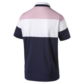 Thumbnail 5 of Polo de golf Nineties pour homme, Pale Pink, medium