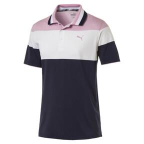 Thumbnail 4 of Polo de golf Nineties pour homme, Pale Pink, medium