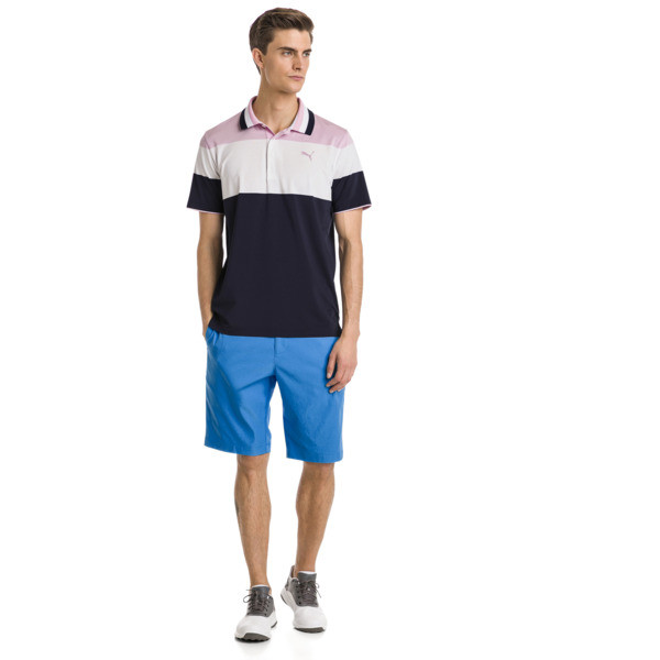 Polo de golf Nineties pour homme, Pale Pink, large
