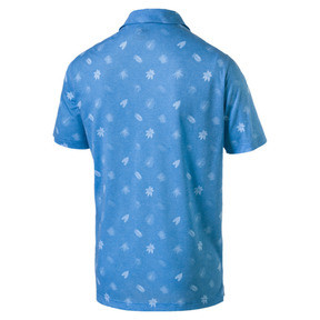 Thumbnail 5 of Verdant Herren Golf Polo, Bleu Azur, medium